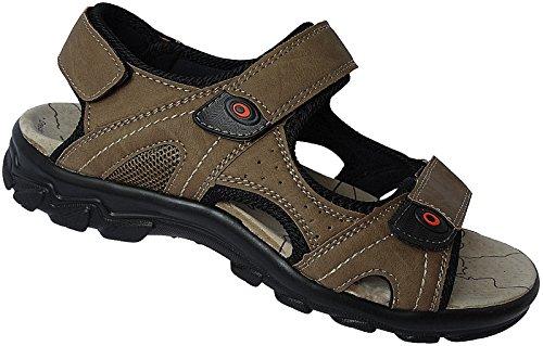 Gr nr Sandalette Trekking 46 40 Schuhe Art Beige 17997 Sandale Outdoorsandale Herren qB4FXwCw