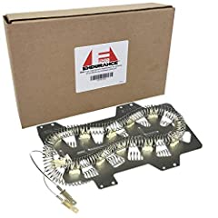 This is a Dryer Heating Element Replacement for Samsung DC47-00019A and Whirlpool 35001247. This dryer heating element includes the insulators and restrings coil, which is already attached for easy installation. This manufacturer-approved hea...