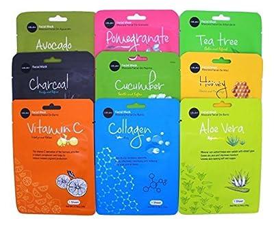 Celavi Essence Facial Face Mask Paper Sheet Korea Skin Care Moisturizing Mixed Pack