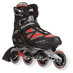 The New Macroblade 90 is an ideal fitness skate for the person looking for support, comfort and performance. Large Supreme wheels mounted with a durable cast-aluminum frame transfers energy efficiently and smooths out rough pavement. For the ...