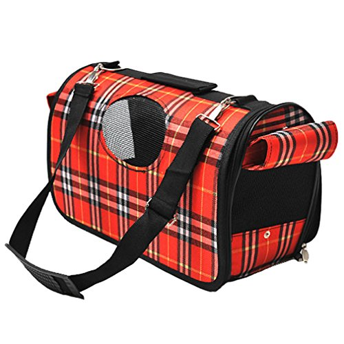 OpetHome Pet-Large Outdoor Carrier Breathable Cat & Dog Comfort Travel Bag Red