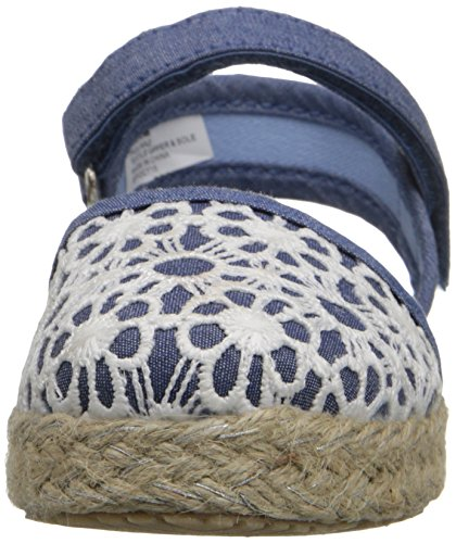 Hanna Andersson Paulina Girl's Espadrille(Toddler/Little Kid/Big Kid), Chambray, 8 M US Toddler by Hanna Andersson (Image #4)