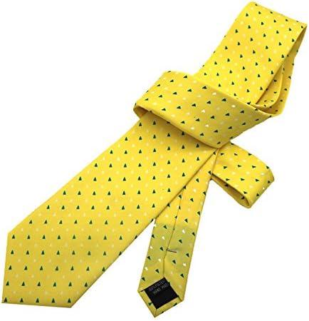 Xzwdiao Ate la Corbata Amarilla de la Manera Profesional del ...