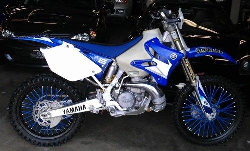 Bykas MADE IN USA Blue-Spoke, Covers, Wraps, Skins, Coats-Dirt Bike 72 Spokes