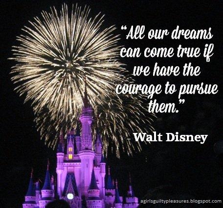 Walt Disney Quotes Get Motivated Poster Paper Print