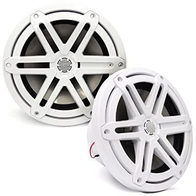 "MX770-CCX-SG-WH - JL Audio 7.7"" 2-Way Marine Cockpit Coaxial MX Series Speakers (White)"