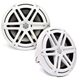 MX770-CCX-SG-WH - JL Audio 7.7'' 2-Way Marine Cockpit Coaxial MX Series Speakers (White)