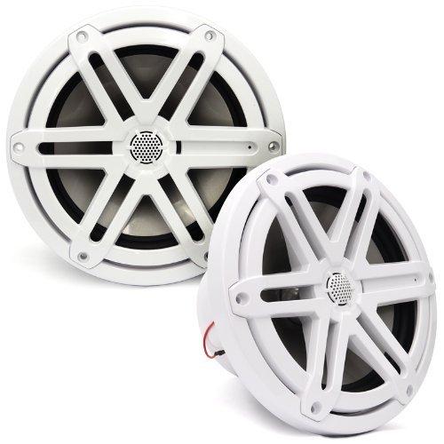 MX770-CCX-SG-WH - JL Audio 7.7'' 2-Way Marine Cockpit Coaxial MX Series Speakers (White)