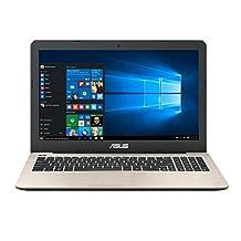 Asus VivoBook F556UA-AB54 15.6-Inch Full-HD (Intel Core i5, 8GB RAM, 256G SSD) with Windows 10, Gold
