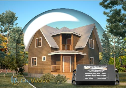 Superior EMF Protection for the Home. Enhances mental and physical performance, fights stress, illness, and negative energies. Produces a Protective Field that protects you from external negative EMF forces. Protect your Body and Mind. (QuWave Home Harmonizer QWH2)