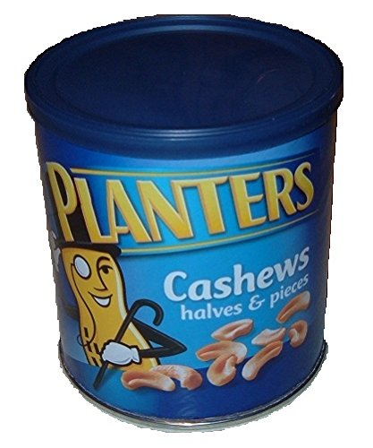 Planters Cashews CanセーフStash Diversion現金、ジュエリーボックス、お金コインセーフby the Can King B071Y3FHNK