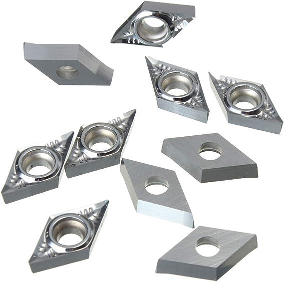 10pcs DCGT11T304-AK H01 DCGT32.51-AK H01 CNC Aluminum Inserts Free Shipping