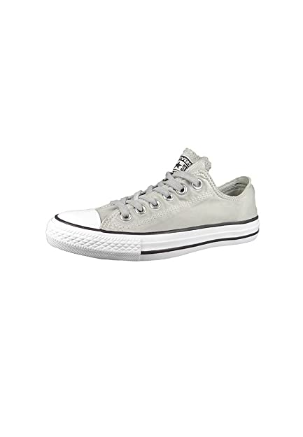 3be5a71cc91 Converse Chucks Gray 155391C Chuck Taylor Kent Wash OX Dolphin Black White