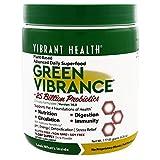 Vibrant Health Green Vibrance Powder 177.5g - 15 Servings - Super Food - Digestion - Cardiovascular Function - Multi