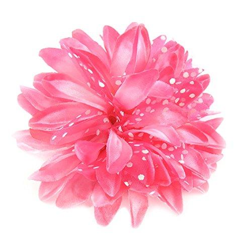 Linda Fashion Colorful Flower Head Accessory, Assorted, 12 - Fashion Linda