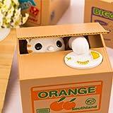 ACHICOO 貯金箱 かわいい 漫画 キティの形 電気 節約 おもちゃ 家 装飾 子供 ギフト