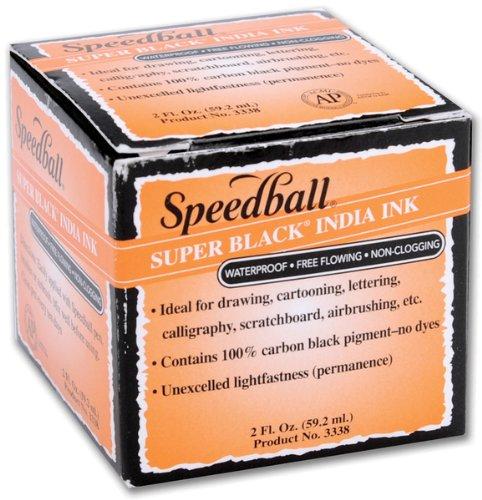 Speedball Super India Ink 2 Ounces-Black [Kitchen]