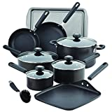 Circulon 13 Piece 2 Hard-Anodized Nonstick Cookware Set, Black