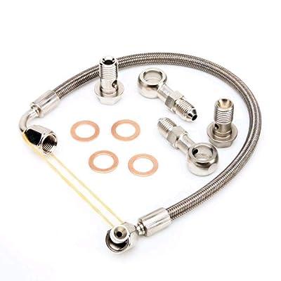 Kinugawa Mini Cooper R56 R58 R60 07~12 11657534454 Turbo Oil Feed Line Kit: Automotive