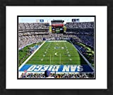 "NFL San Diego Chargers Qualcomm Stadium, Beautifully Framed and Double Matted, 18"" x 22"" Sports Photograph"