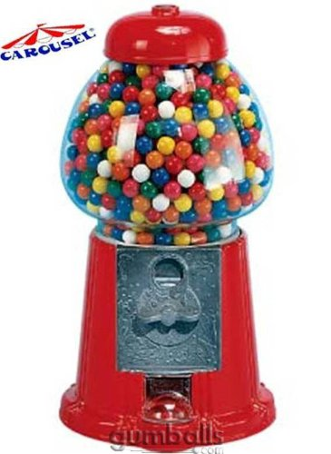 Carousel King Gumball Machine Bank, 15