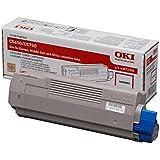 Oki 43872306 - Toner láser, 2.000 páginas, color magenta Tipo C12