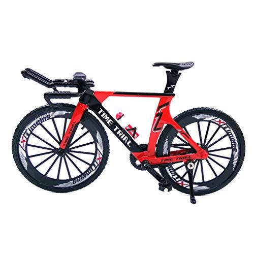 [해외]Ailejia Alloy Racing Bicycle Mountain Finger Bike Toy Mini Bicycle Vehicles Model Decoration Crafts for Home (Red) / Ailejia Alloy Racing Bicycle Mountain Finger Bike Toy Mini Bicycle Vehicles Model Decoration Crafts for Home (Red)
