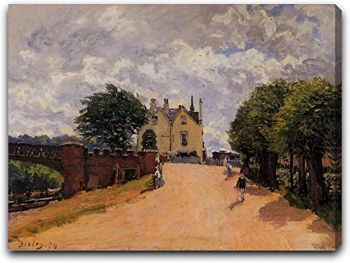 inn-at-east-molesey-with-hampton-court-bridge-by-alfred-sisley-20-x-27-gallery-wrapped-canvas-art-pr