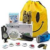 Airmoon Kid Explorer Kit, Outdoor Adventure Set, Pack of 12, for Explorer Backyard, Famliy Hiking Trip, Camping, Gift Box