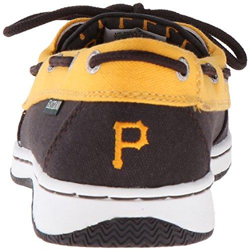 Bote Pirates Mujer para Negro para MLB Zapatos Sunset Eastland HT1WSqTZ