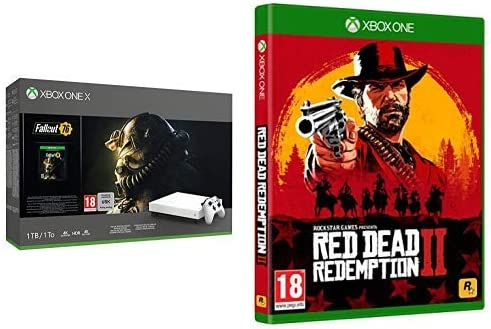 Microsoft Xbox One X - Consola 1 TB, Color Blanco + Fallout 76 + Red Dead Redemption 2 (Xbox One): Amazon.es: Videojuegos