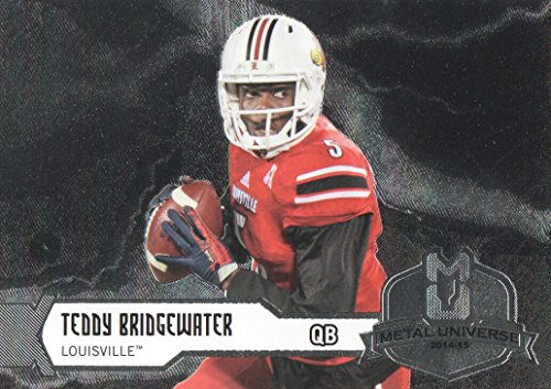 2014 Flair Showcase Metal Universe #M14 Teddy Bridgewater - NM-MT M14 Metal