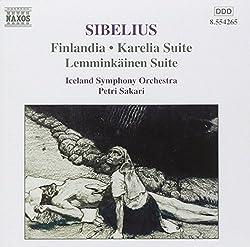 Sibelius: Finlandia Karelia Suite Lemminkainen Suite