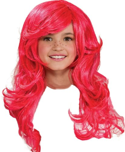 Strawberry Shortcake Halloween Costume (Strawberry Shortcake Child's Wig)