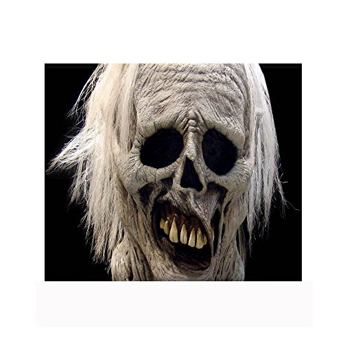 The Chiller Zombie Halloween Mask Prop Horror Ghoul Undead Full Head (Ghoul Head Prop)