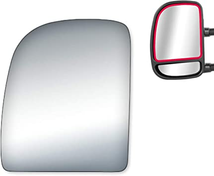 New Lower Left Side Mirror Glass for Ford Econoline Van Excursion F250 F350 F450
