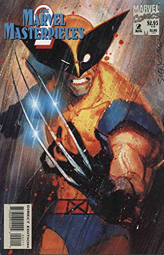 Marvel Masterpieces 2 Collection, The #2 VF/NM ; Marvel comic book
