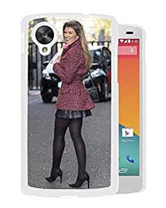 Beautiful Girl Cover Case For Google Nexus 5 With Amy Willerton Girl Mobile Wallpaper(105) Phone Case