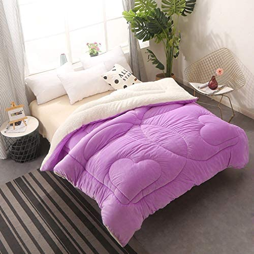 Soft Fluffy Warm Bed Quilt Fleece Blankets Winter GrayGraygood Thicken Lamb Cashmere Blanket Extra Large Microfiber Bed Blankets For Home Bedroom Sofa
