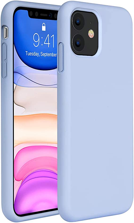 Miracase Liquid Silicone Case Compatible with iPhone 11