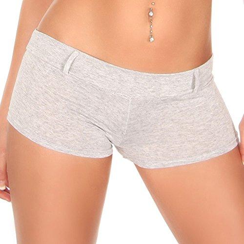 KouCla - Pantalón corto - para mujer gris