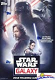 2018 Topps Star Wars Galaxy EXCLUSIVE Factory Sealed Retail Box with 10 Packs & SPECIAL PATCH RELIC Card! Look for Inserts, Parallels & Autographs from Across the Star Wars Galaxy! Wowzzer!