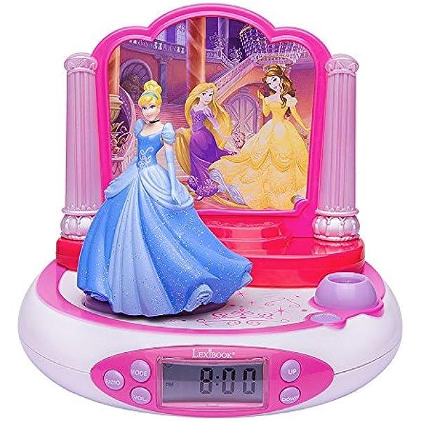 Disney RP510DP Radio Despertador con Proyección de la Hora ...
