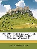 Systematischer Commentar Über Den Brief an Die Hebräer, Johann Christian Blasche, 1276741197