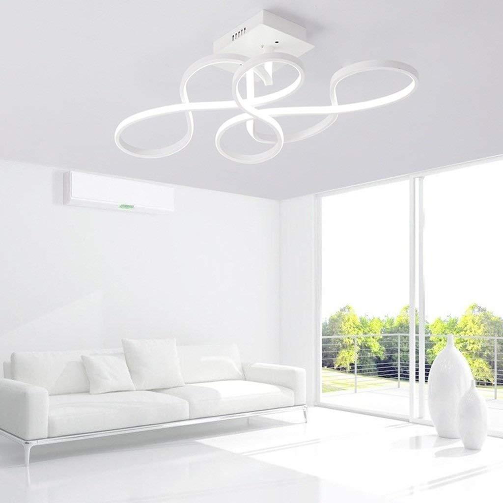 TYUIO 導かれた天井灯の付属品、涼しい白。台所、廊下、居間のための導かれた浴室の天井灯。天井のための軽い付属品をフラッシュして下さい、150W電球と同等。 [エネルギークラスA ++] (色 : 白色光, サイズ さいず : 58*46cm) B07Q2CXWQ8 白色光 58*46cm