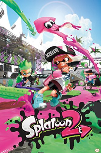Splatoon 2 Video Gaming Poster 24x36