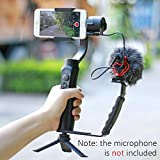 Zhiyun Smooth Q 3 Axis Handheld Gimbal Stabilizer+Mini Tripod Stand+L Mic Stand,Wireless Control For Max 6 inch Smartphones Iphone7 6s plus Android Samsung Galaxy Huawei Xiaomi Gopro