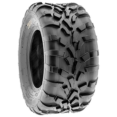 SunF 25x11-10 (25x11x10) ATV/UTV Off-Road Tire, 6PR, Directional Knobby Tread | A010 by SunF (Image #6)