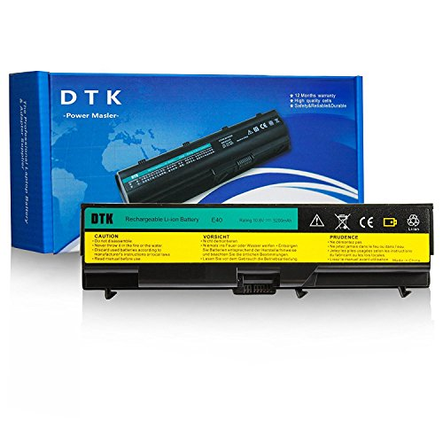 Dtk Laptop Battery for Lenovo Thinkpad E40 E50 Edge, used for sale  Delivered anywhere in Canada