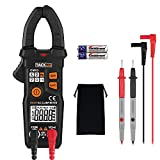Multimeters, Tacklife CM03 Clamp Meter Auto-Ranging 6000 Counts NCV Electrical Tester AC Current, AC/DC Voltage, Ohm Meter Digital Multimeter, AC Signal/Inherent Frequency Electronic Tester